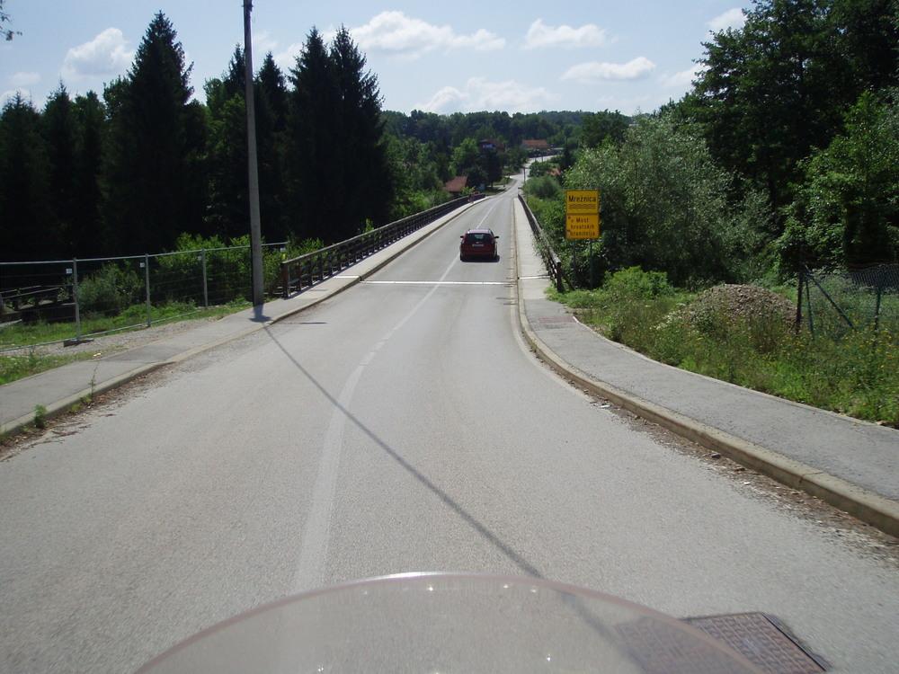 Belavići, most preko Mrežnice