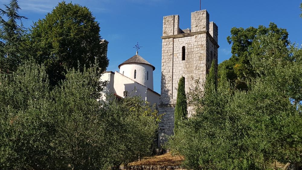Zvonik manastira Krupa