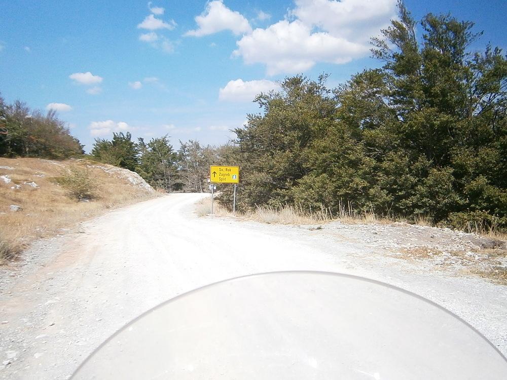 Putokaz na Velebitu
